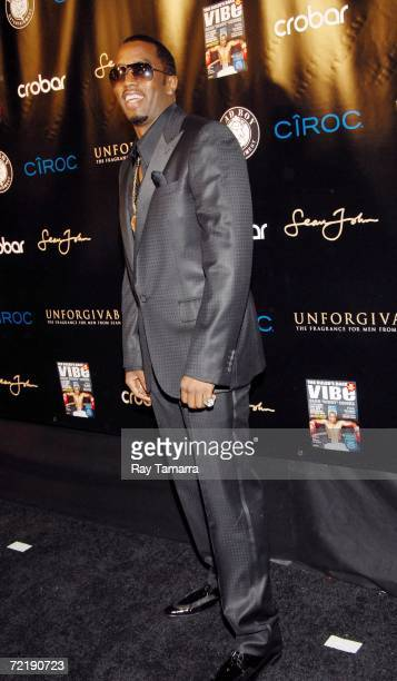 Diddy Celebrates His Vibe Magazine Cover And Release Of