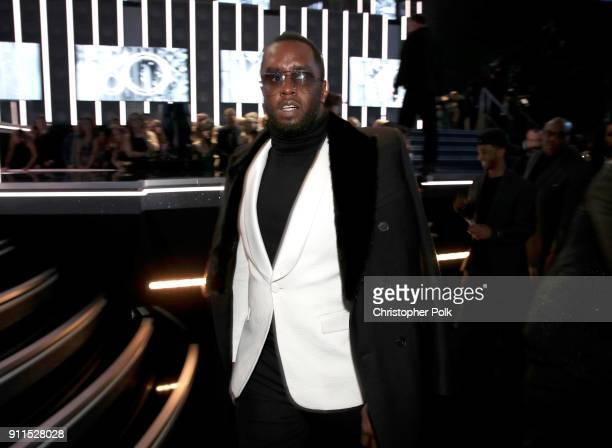 Recording artist Sean 'Diddy' Combs attends the 60th Annual GRAMMY Awards at Madison Square Garden on January 28 2018 in New York City