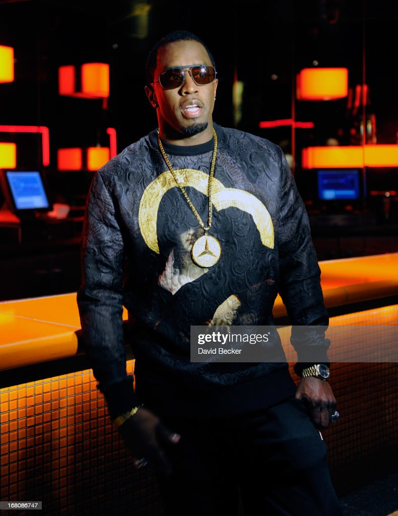 Recording artist Sean 'Diddy' Combs attends the Fight Night after party at the Palms Casino Resort on May 4, 2013 in Las Vegas, Nevada.