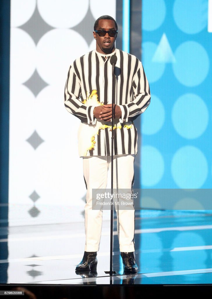 Recording artist Sean 'P. Diddy' Combs speaks onstage during the 2017 BET Awards at Microsoft Theater on June 25, 2017 in Los Angeles, California.