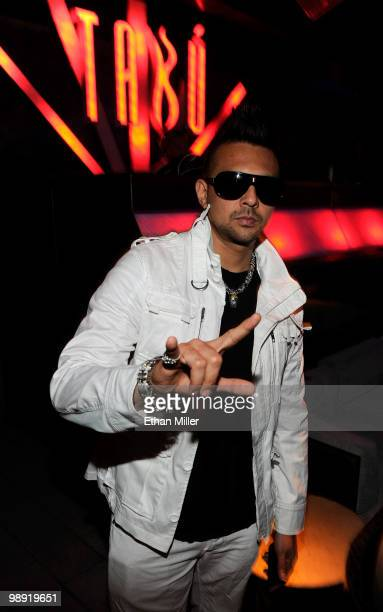 Recording artist Sean Paul appears at the Tabu Ultra Lounge at the MGM Grand Hotel/Casino for the opening night of the JabbaWockeez dance crew show...
