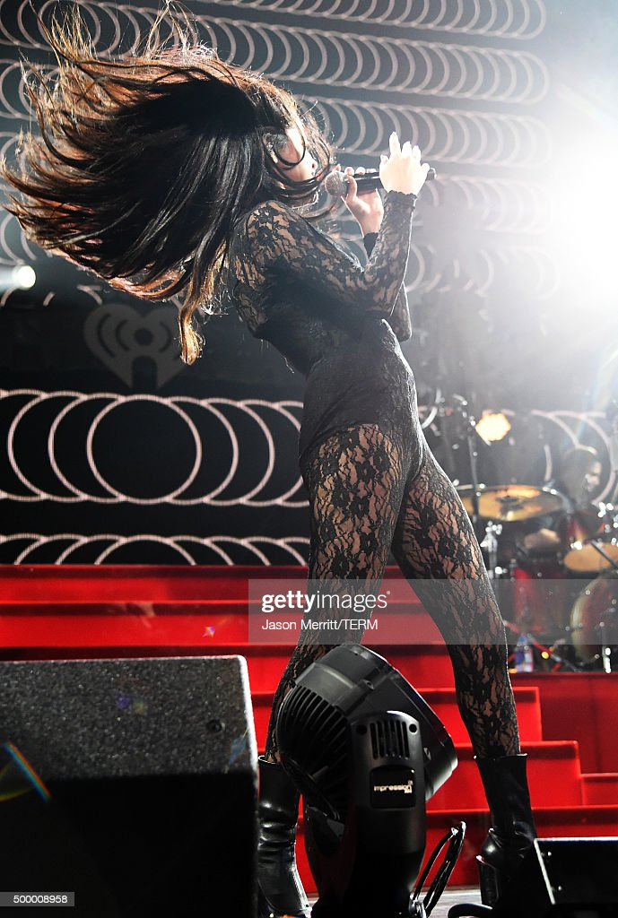 Recording artist Selena Gomez performs onstage during 102.7 KIIS FM's Jingle Ball 2015 Presented by Capital One at STAPLES CENTER on December 4, 2015 in Los Angeles, California.