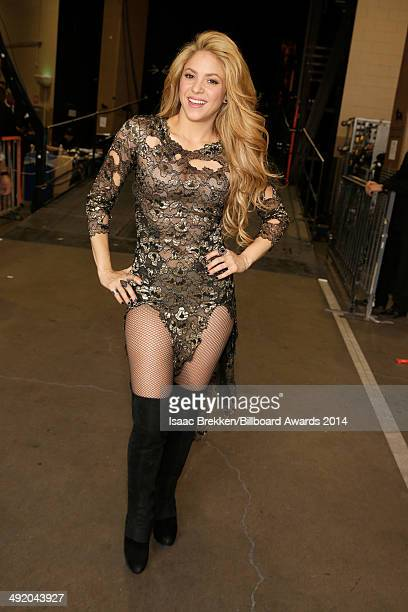 Recording artist Shakira attends the 2014 Billboard Music Awards at the MGM Grand Garden Arena on May 18 2014 in Las Vegas Nevada