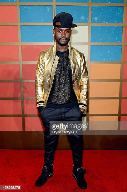 Recording artist Shaliek attends the 2014 Soul Train Music Awards at the Orleans Arena on November 7 2014 in Las Vegas Nevada