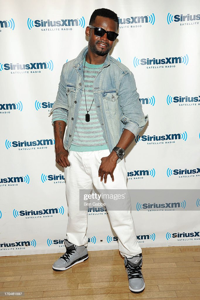 Recording artist Shaliek visits SiriusXM Studios on June 13, 2013 in New York City.