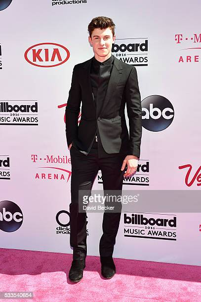 Recording artist Shawn Mendes attends the 2016 Billboard Music Awards at TMobile Arena on May 22 2016 in Las Vegas Nevada