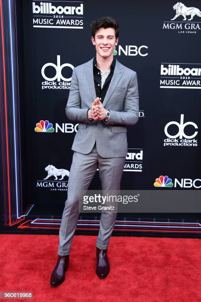 Recording artist Shawn Mendes attends the 2018 Billboard Music Awards at MGM Grand Garden Arena on May 20 2018 in Las Vegas Nevada