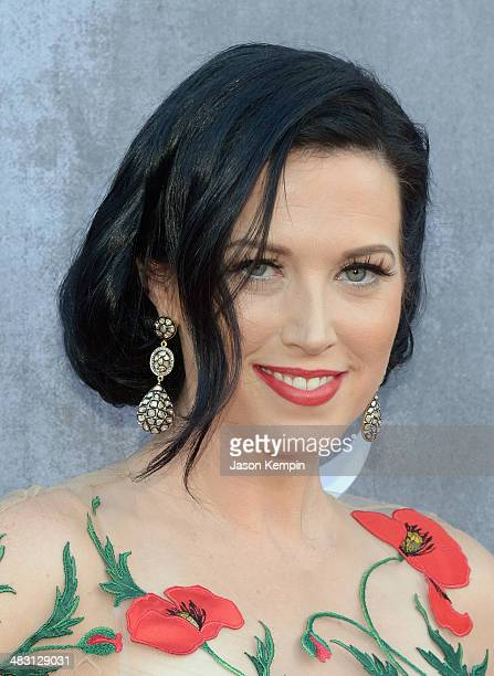 Recording artist Shawna Thompson of music group Thompson Square attends the 49th Annual Academy Of Country Music Awards at the MGM Grand Garden Arena...