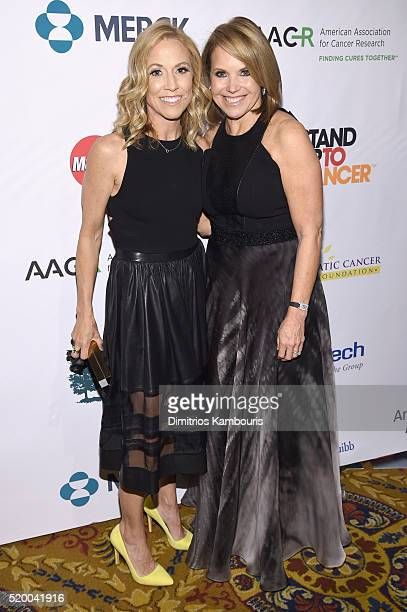 Recording artist Sheryl Crow and CoFounder SU2C Council of Founders and Advisors Katie Couric attend Stand Up To Cancer's New York Standing Room Only...