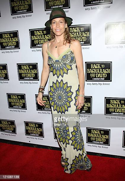 Recording artist Sheryl Crow arrives at Back to Bacharach and David Opening Night at The Music Box @ Fonda on April 19 2009 in Hollywood California