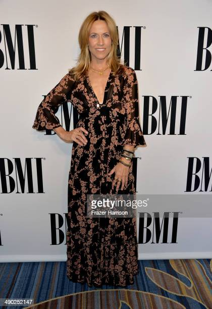Recording artist Sheryl Crow attends the 62nd annual BMI Pop Awards at the Regent Beverly Wilshire Hotel on May 13 2014 in Beverly Hills California