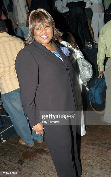 Recording artist Shirley Murdock poses for photos at Sister 2 Sister's Sweet 16th Gala at Crobar April 20 2005 in New York City