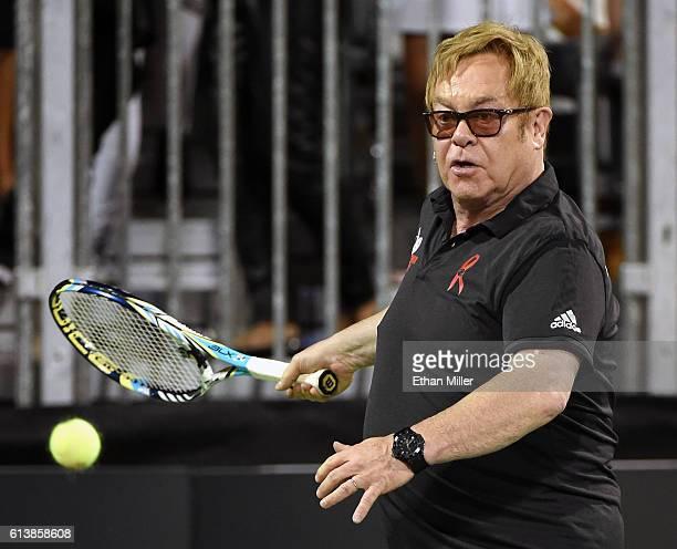 Sir Elton John And Billie Jean King Host World Teamtennis Smash Hits