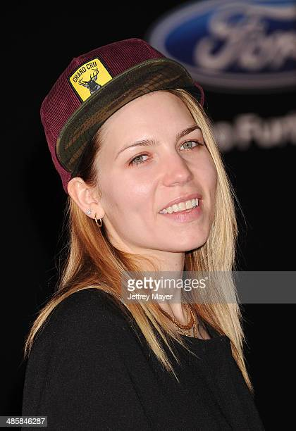 Recording Artist Skylar Grey arrives at the Los Angeles premiere of 'Need For Speed' at TCL Chinese Theatre on March 6 2014 in Hollywood California
