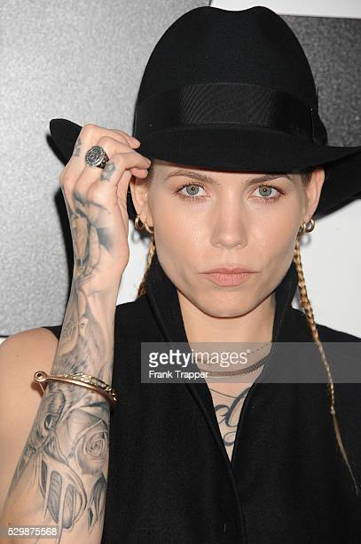 Recording artist Skylar Grey arrives at the premiere of Furious 7 held at the TCL Chinese Theater in Hollywood