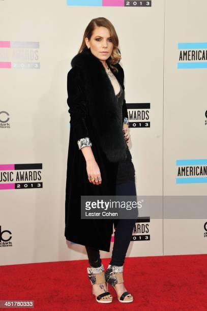 Recording artist Skylar Grey attends the 2013 American Music Awards at Nokia Theatre LA Live on November 24 2013 in Los Angeles California