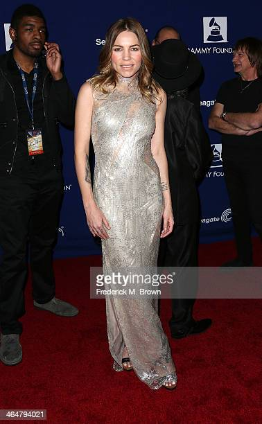 Recording artist Skylar Grey attends the 56th GRAMMY Awards Foundation Legacy Concert at The Wilshire Ebell Theatre on January 23 2014 in Los Angeles...