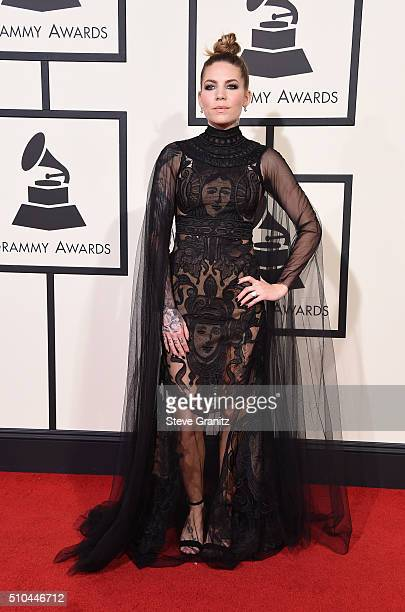 Recording artist Skylar Grey attends The 58th GRAMMY Awards at Staples Center on February 15 2016 in Los Angeles California