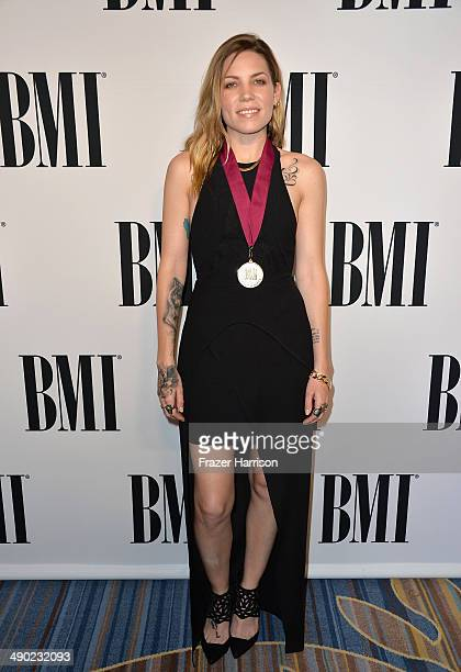 Recording artist Skylar Grey attends the 62nd annual BMI Pop Awards at the Regent Beverly Wilshire Hotel on May 13 2014 in Beverly Hills California
