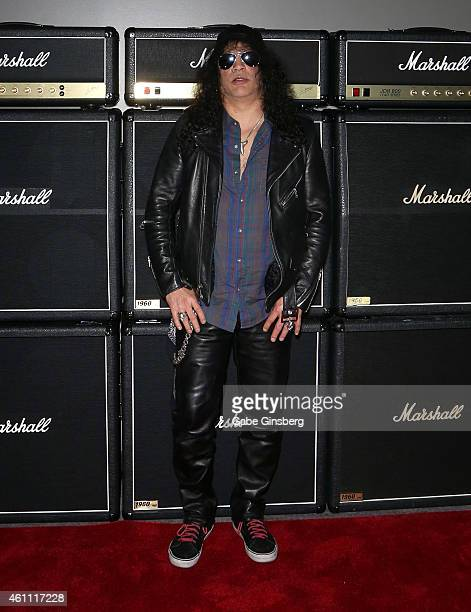 Recording artist Slash of Slash featuring Myles Kennedy and The Conspirators arrives at Marshall Headphones presents the Launch of Major II with...