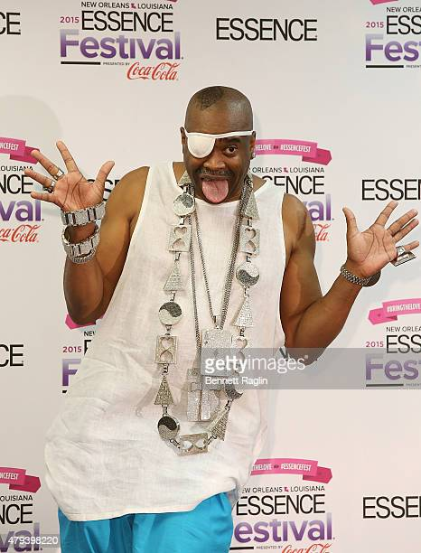 Recording artist Slick Rick attends the 2015 Essence Music Festival Day 2 on July 3 2015 in New Orleans Louisiana