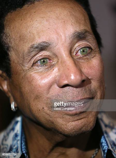 Recording artist Smokey Robinson attends the 26th Annual Simply Shakespeare benefit at Freud Playhouse UCLA on September 19 2016 in Westwood...