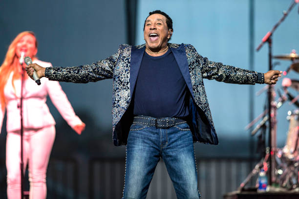 CA: Smokey Robinson Performs At the San Diego County Fair