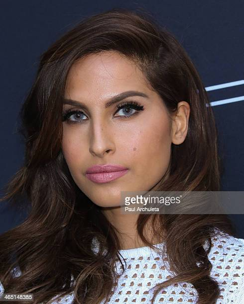 Recording Artist Snoh Aalegra attends the Roc Nation preGrammy brunch on January 25 2014 in Los Angeles California