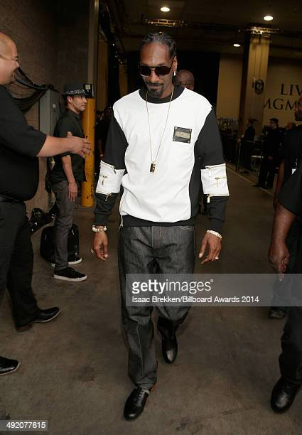 Recording artist Snoop Dogg attends the 2014 Billboard Music Awards at the MGM Grand Garden Arena on May 18 2014 in Las Vegas Nevada