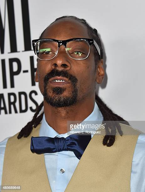 Recording artist Snoop Dogg attends the 2015 BMI RB/Hip Hop Awards at Saban Theatre on August 28 2015 in Beverly Hills California