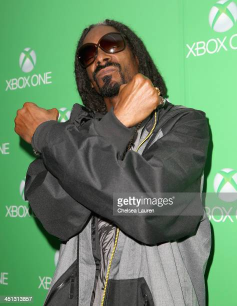 Recording artist Snoop Lion attends the Xbox One Launch at Milk Studios on November 21 2013 in Los Angeles California