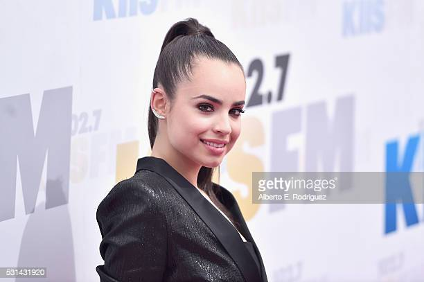 Recording artist Sofia Carson attends KIIS FM's Wango Tango 2016 at StubHub Center on May 14 2016 in Carson California