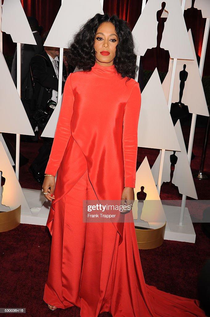 USA - The 87th Annual Academy Awards - Arrivals. : News Photo