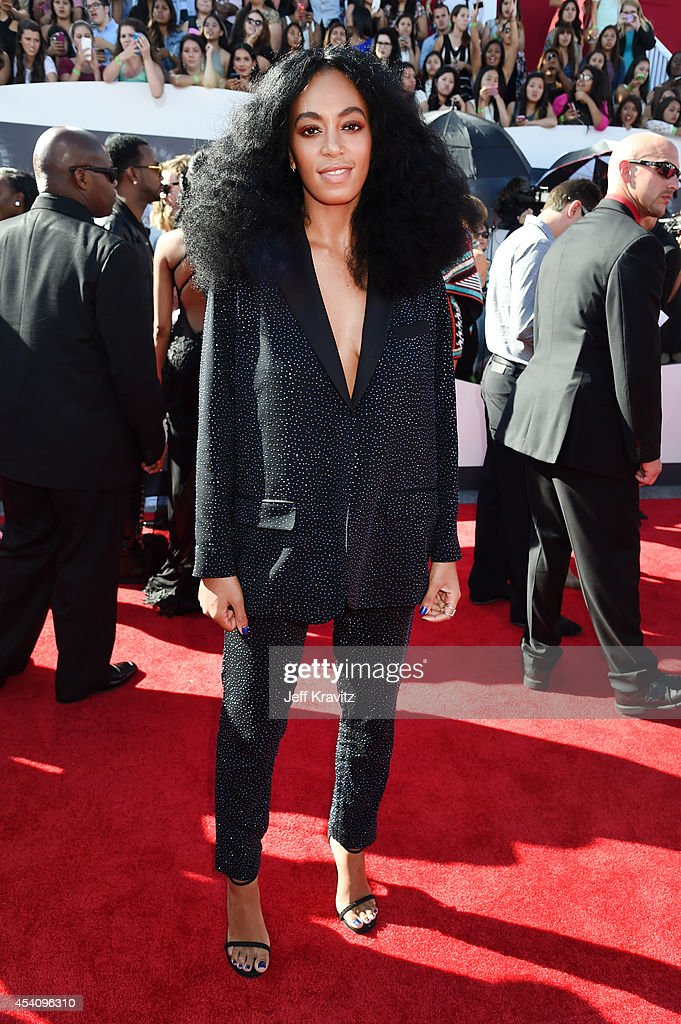 Recording artist Solange Knowles attends the 2014 MTV Video Music Awards at The Forum on August 24, 2014 in Inglewood, California.