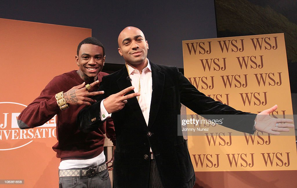 Wall Street Journal Conversations: Soulja Boy Discusses Social Media : News Photo