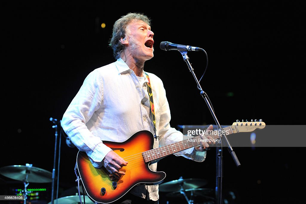 Recording artist Steve Winwood opens for Tom Petty and The Heartbreakers at Honda Center on October 7, 2014 in Anaheim, California.