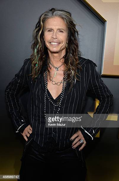 Recording artist Steven Tyler attends the 18th Annual Hollywood Film Awards at The Palladium on November 14 2014 in Hollywood California