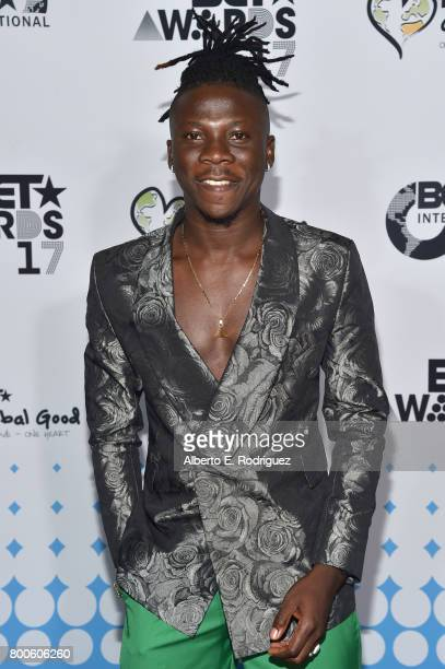 Recording artist Stonebwoy attends the 2017 BET International Awards Presentation at Microsoft Theater on June 24 2017 in Los Angeles California