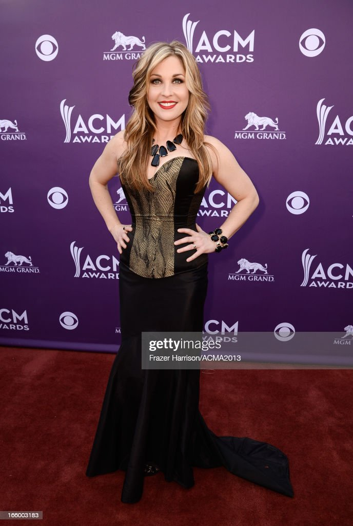 Recording artist Sunny Sweeney attends the 48th Annual Academy of Country Music Awards at the MGM Grand Garden Arena on April 7, 2013 in Las Vegas, Nevada.