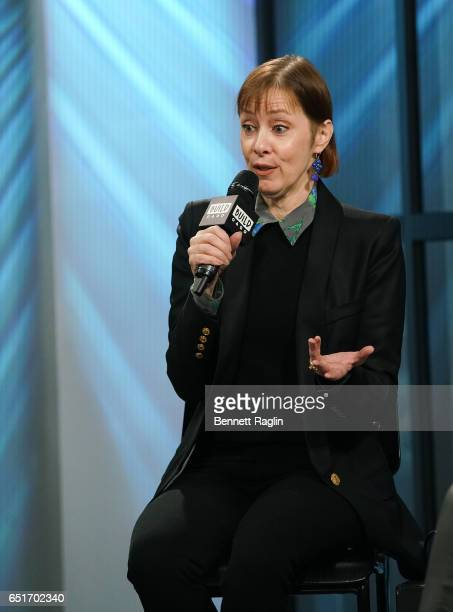 Recording artist Suzanne Vega attends the Build Series at Build Studio on March 10 2017 in New York City