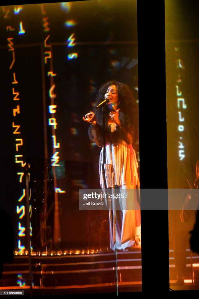 Recording artist SZA performs onstage during the 60th Annual GRAMMY Awards at Madison Square Garden on January 28, 2018 in New York City.