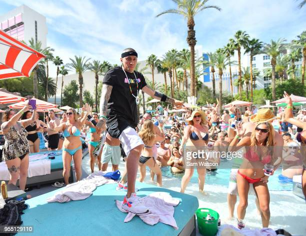 37 Taboo Performs Dj Set At The Flamingo Go Pool In Las