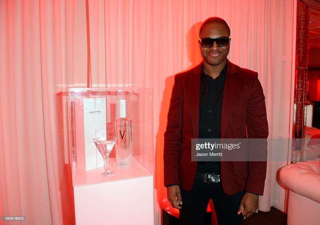 Recording Artist Taio Cruz attends Quattro Volte Vodka Preview with Taio Cruz at SLS Hotel on February 7, 2013 in Beverly Hills, California.