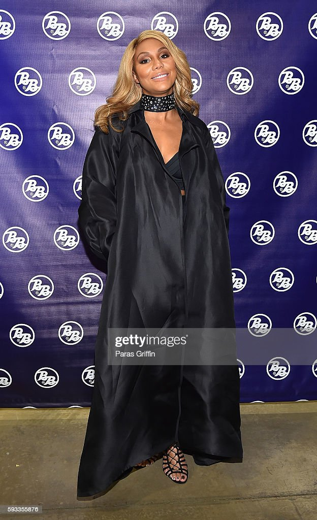 Recording artist Tamar Braxton attends Centric Presents Bronner Bros. Hair Battle at Georgia World Congress Center on August 21, 2016 in Atlanta, Georgia.