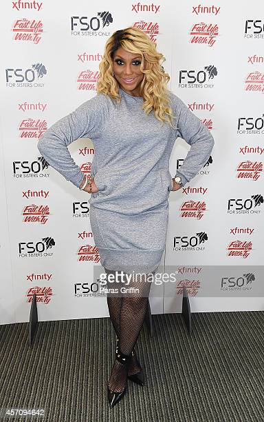 Recording artist Tamar Braxton attends the 2014 V103 For Sisters Only at Georgia World Congress Center on October 11 2014 in Atlanta Georgia