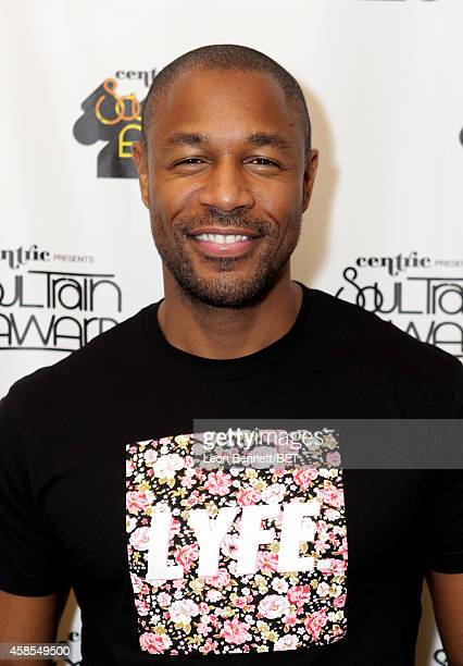 Recording artist Tank attends day 1 of the 2014 Soul Train Music Awards Gifting Suite at the Orleans Arena on November 6 2014 in Las Vegas Nevada