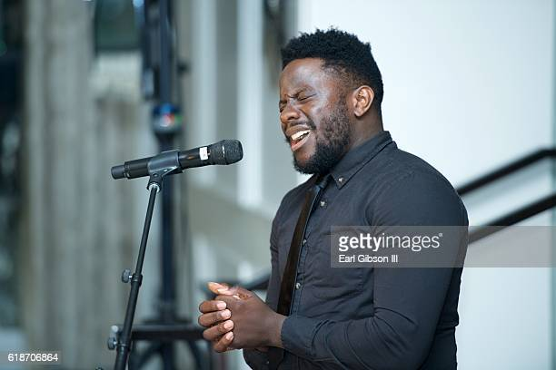 Recording Artist Taps performs at the Fundraiser Event For Rock The Elephant at Hotel BelAir on October 27 2016 in Los Angeles California
