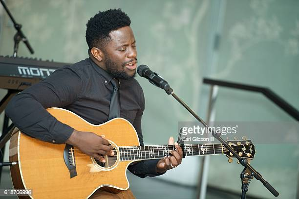 Recording Artist Taps performs at the Fundraiser Event For Rock The Elephant at Hotel Bel-Air on October 27, 2016 in Los Angeles, California.