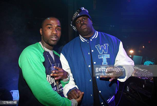 Recording artist Tarz Youngblood and DJ Funkmaster Flex attend Girls Night Out at Webster Hall on March 31 2011 in New York City