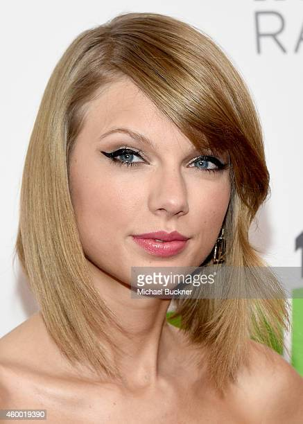 Recording artist Taylor Swift attends KIIS FM's Jingle Ball 2014 powered by LINE at Staples Center on December 5 2014 in Los Angeles California